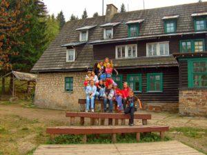 Wycieczka szkolna Góry Stołowe